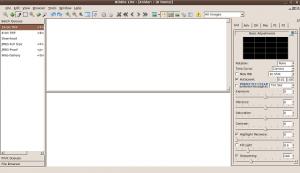 L'aspetto di una applicazione Qt3 in Gnome, dopo le modifiche apportate