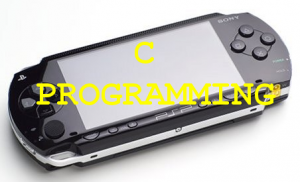 C programming psp chaintool sdk